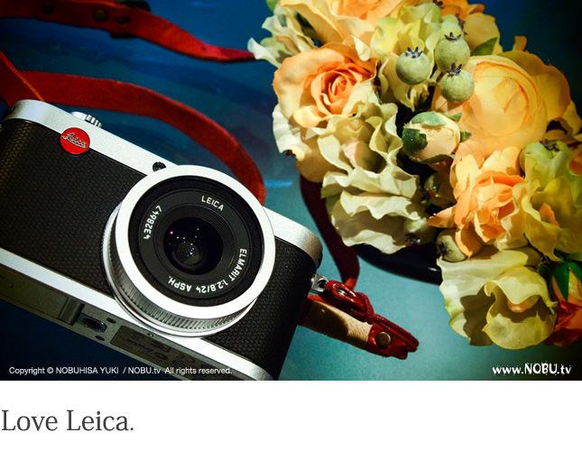 NOBU.tv : Leica X2 レンズユニット交換